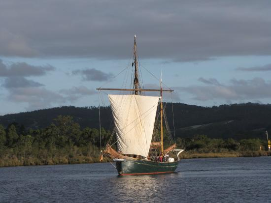 'Yukon' on the Huon River