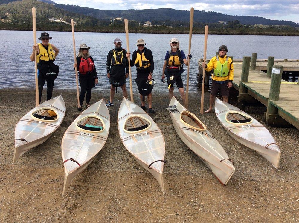Build a Skin on Frame Kayak — Wooden Boat Centre Tasmania