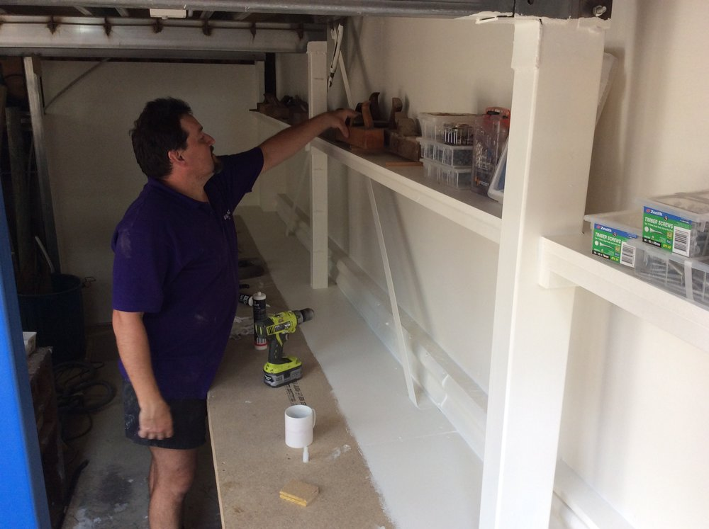 Francis' tool storage area.JPG