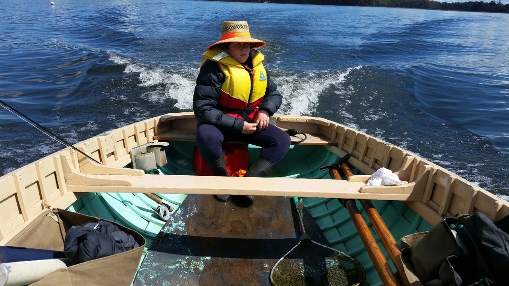 Fazackerly dinghy back on the water.jpeg