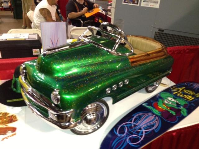 Custom Pedal Car.JPG