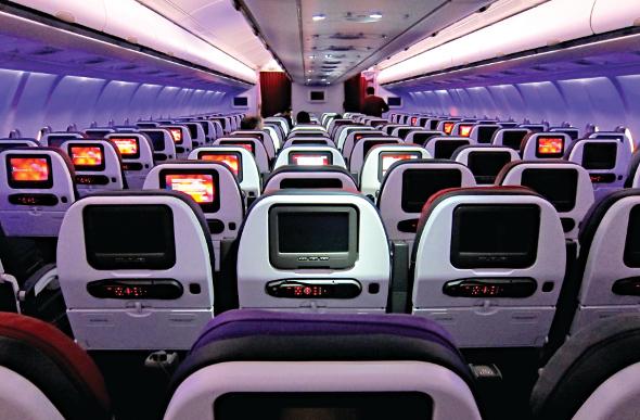 Virgin Australia Economy Class - A330