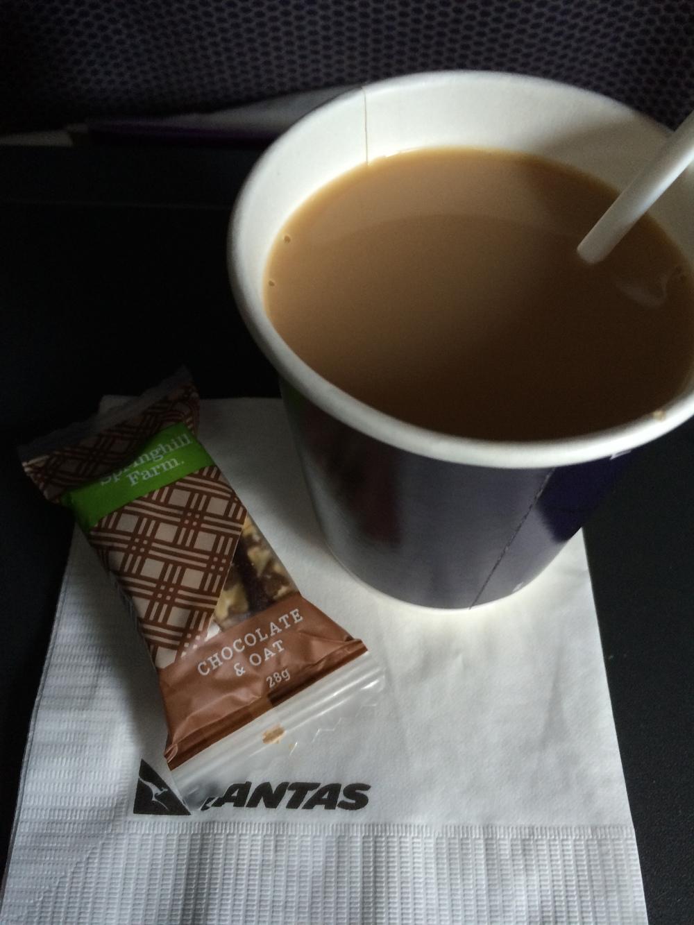FlySpy: A very light refreshment before landing