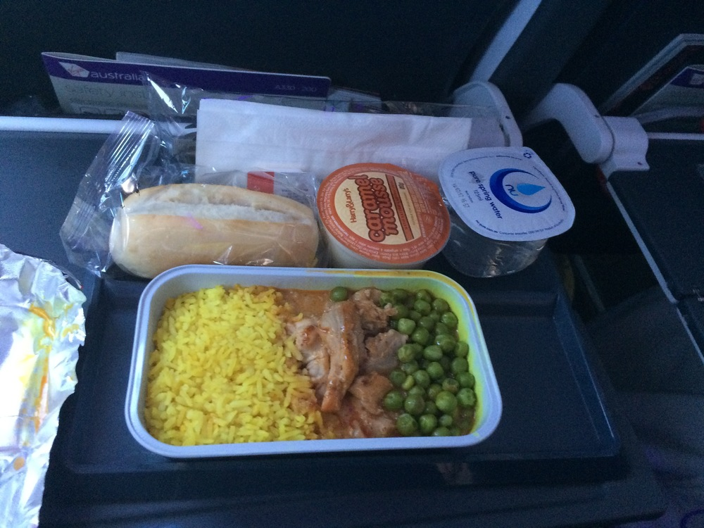 FlySpy:The Virgin Australia inflight meal