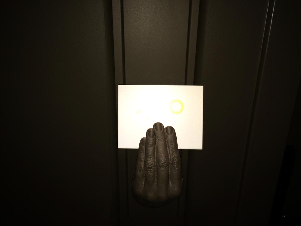 Unique room signage
