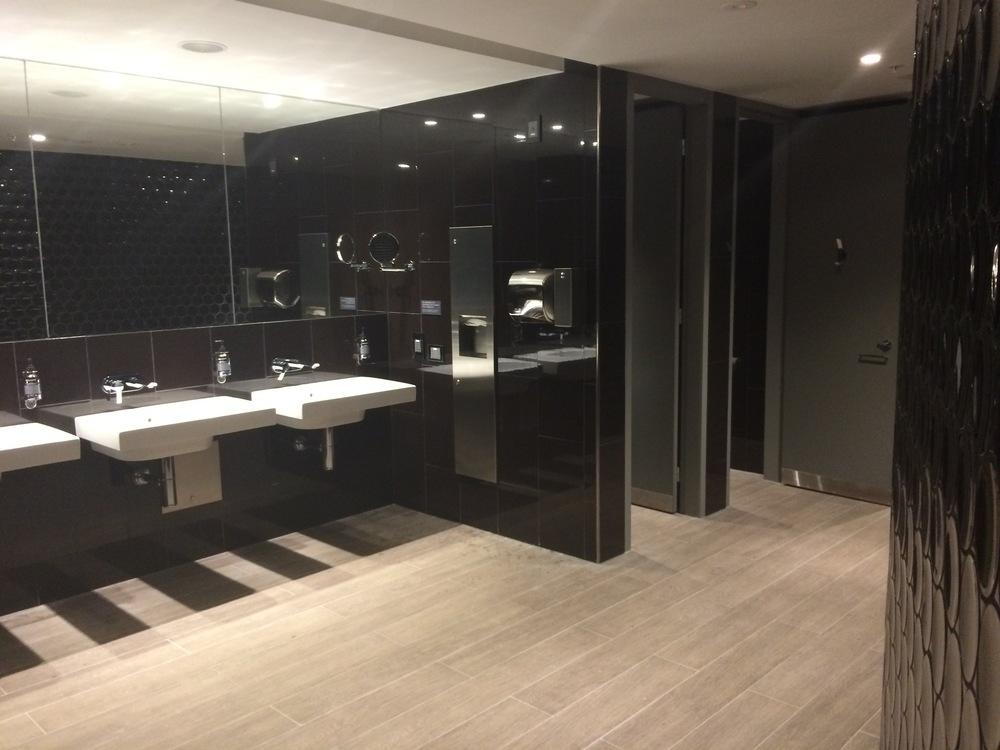 The Men's bathroom.