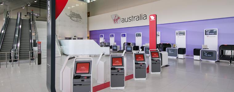 Perth T2 Check in area