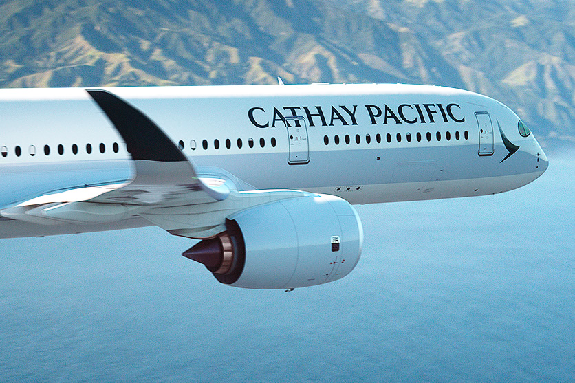 Cathay Pacific A350 to Dublin