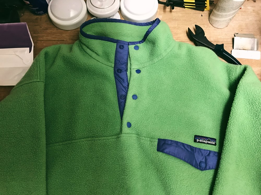 Fresh snaps on an original Made in USA Patagonia Snap-T