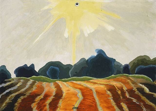 """Morning Sun"", Arthur G. Dove"