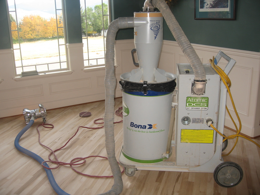 State of the Art Dust Containment   for a Dustless Wood Flooring Experience   See More
