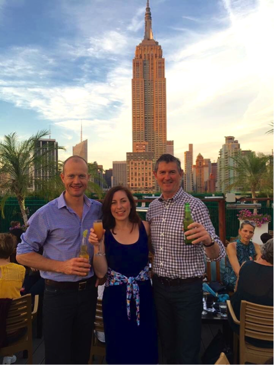 Full Profile Co-Founders Emma, Bob, and Ben in NYC.