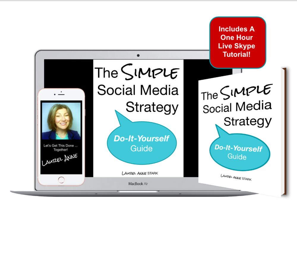 The Simple Social Media Strategy Do It Yourself Guide + 1 hour live tutorial.