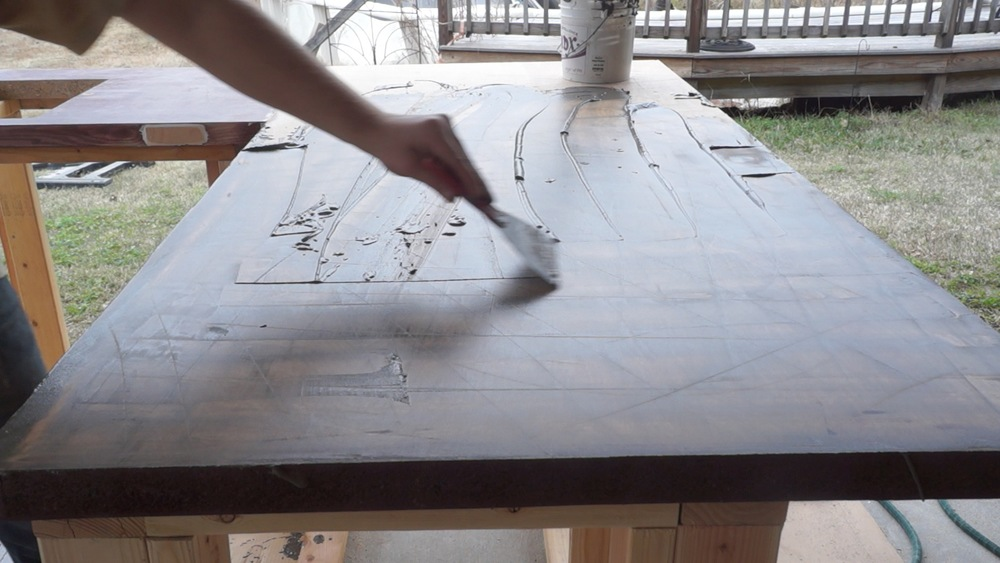 Diy Overlay Concrete Countertops Modern Builds