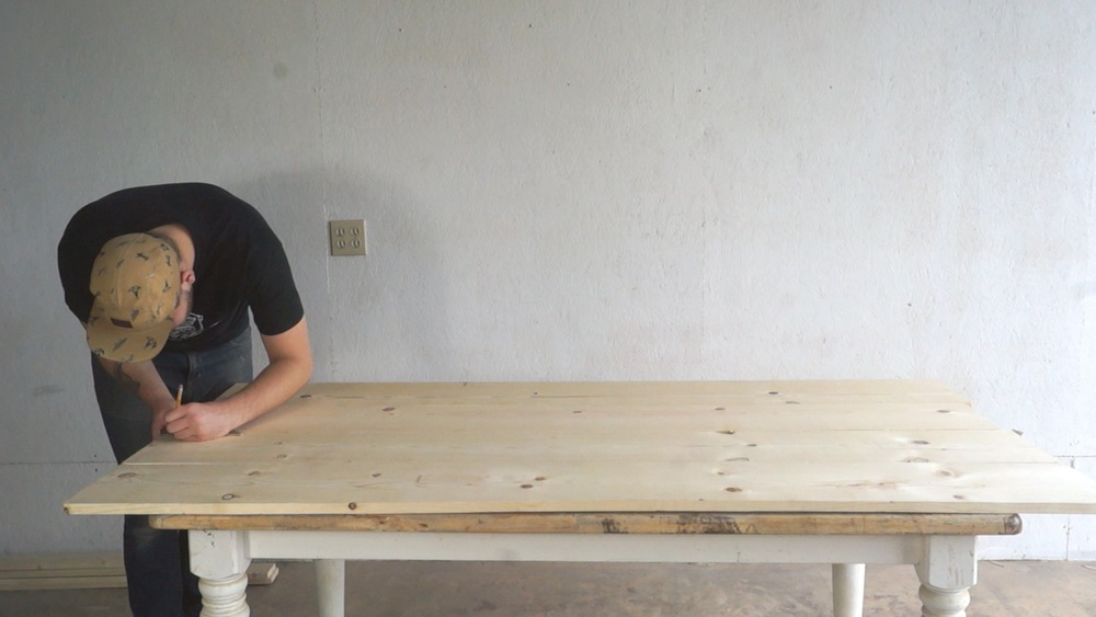 HOW TO BUILD A DINING TABLE  Modern Builds - Build a dining table