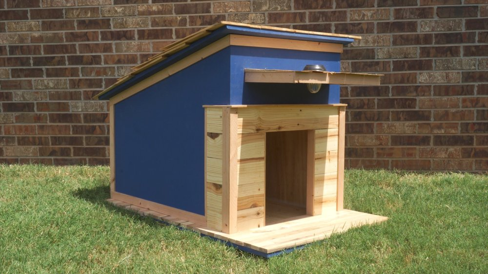 How To Build A Dog House Modern Builds