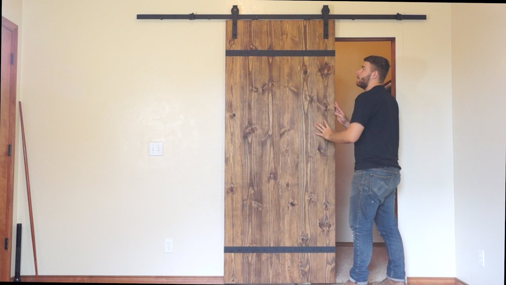 I hope you enjoyed it and go out and make your own. If you do don\u0027t forget to tag me in a picture of it! & DIY MODERN SLIDING BARN DOOR \u2014 Modern Builds