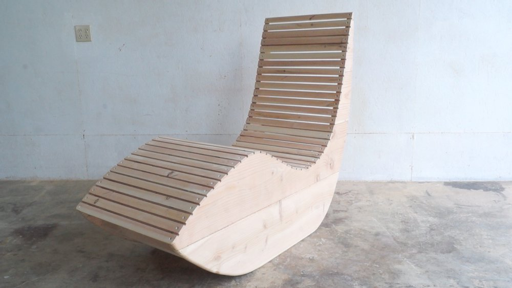 Diy modern outdoor lounge chair modern builds for Diy lounge chair