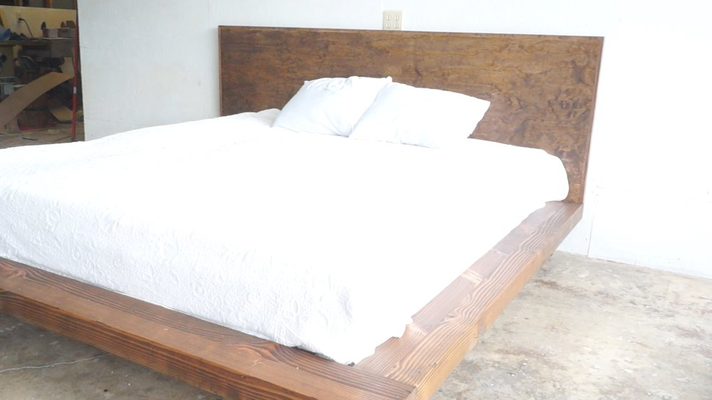 DIY MODERN PLATFORM BED — Modern Builds