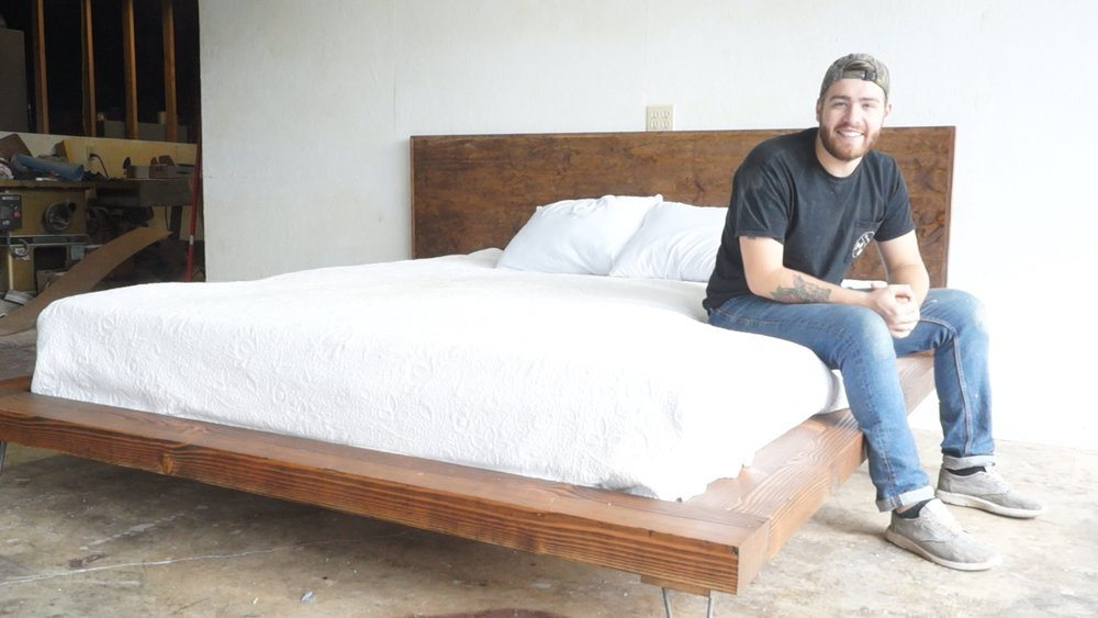 DIY MODERN PLATFORM BED — Modern Builds