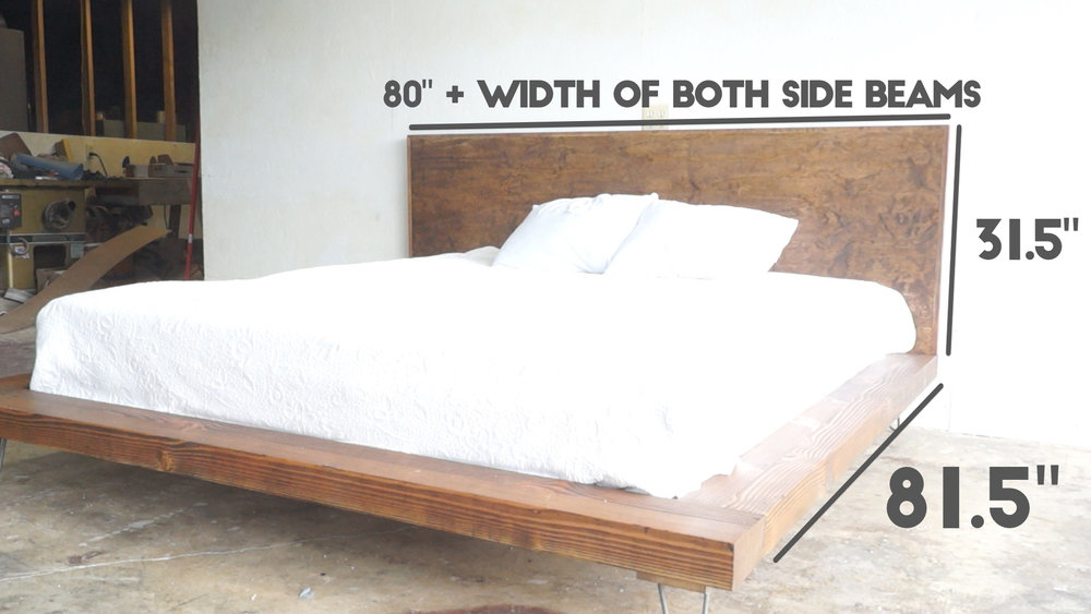 Diy Modern Platform Bed Modern Builds