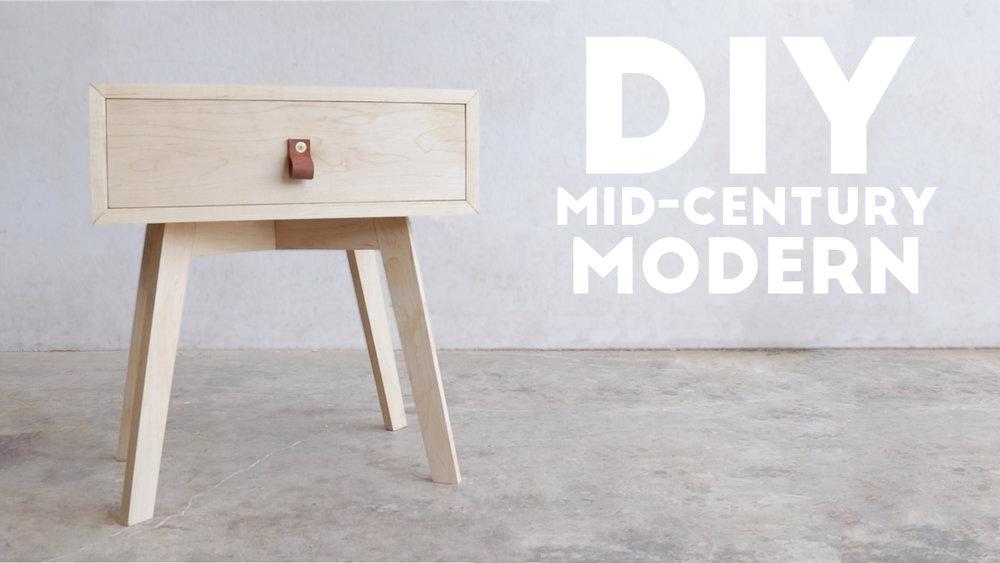 70 DIY MID CENTURY MODERN SIDE TABLE