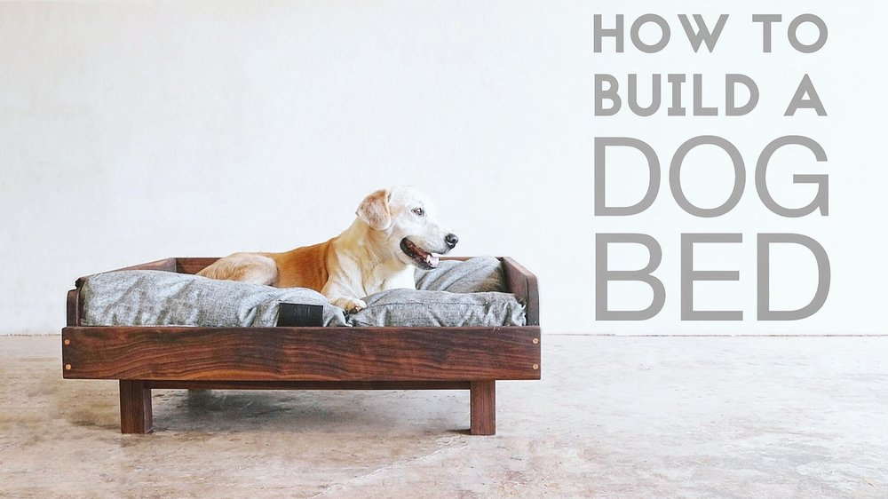 Charmant Today On Modern Builds Iu0027m Building My Dog His Own Mid Century Modern  Inspired Dog Bed. I Decided To Use Walnut For The Project. If Thatu0027s Not  Available In ...