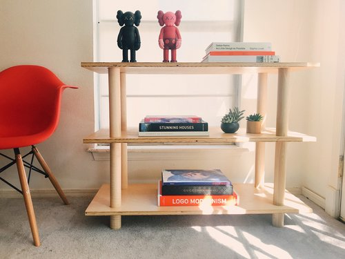 Diy dowel bookcase modern builds img4509g solutioingenieria Image collections