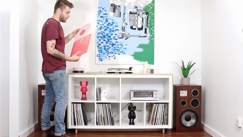 IKEA RECORD CONSOLE — Modern Builds