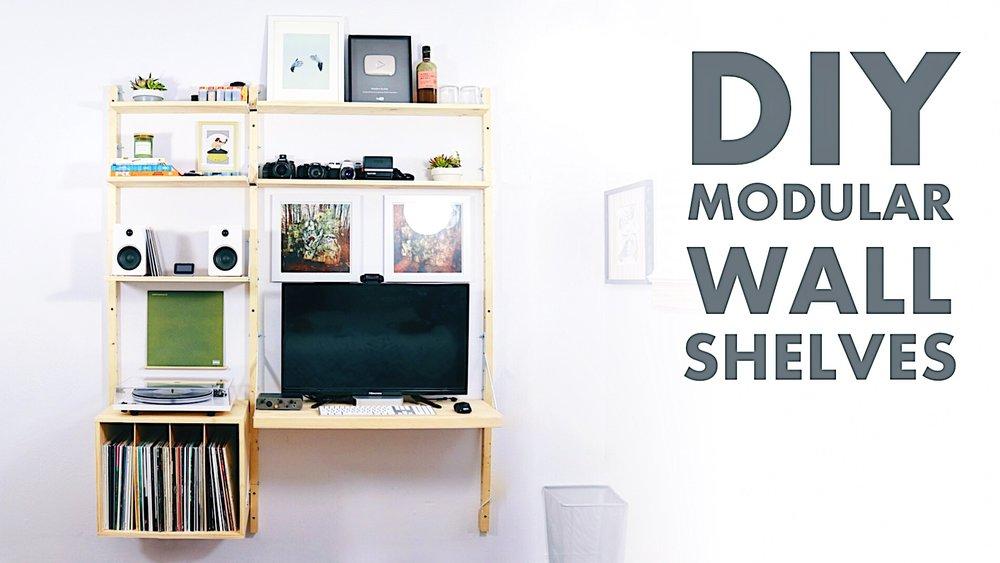 Modular Wall Shelf Modern Builds