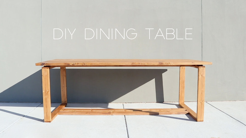 Diy Split Top Dining Table