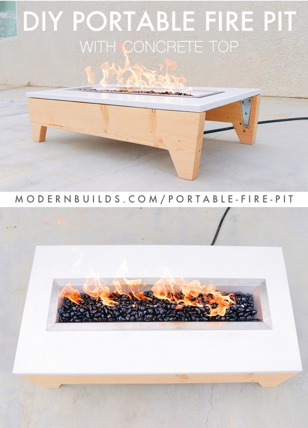 How to build a portable concrete fire pit with GFRC (Glass Fiber Reinforced Concrete) by: Modern Builds
