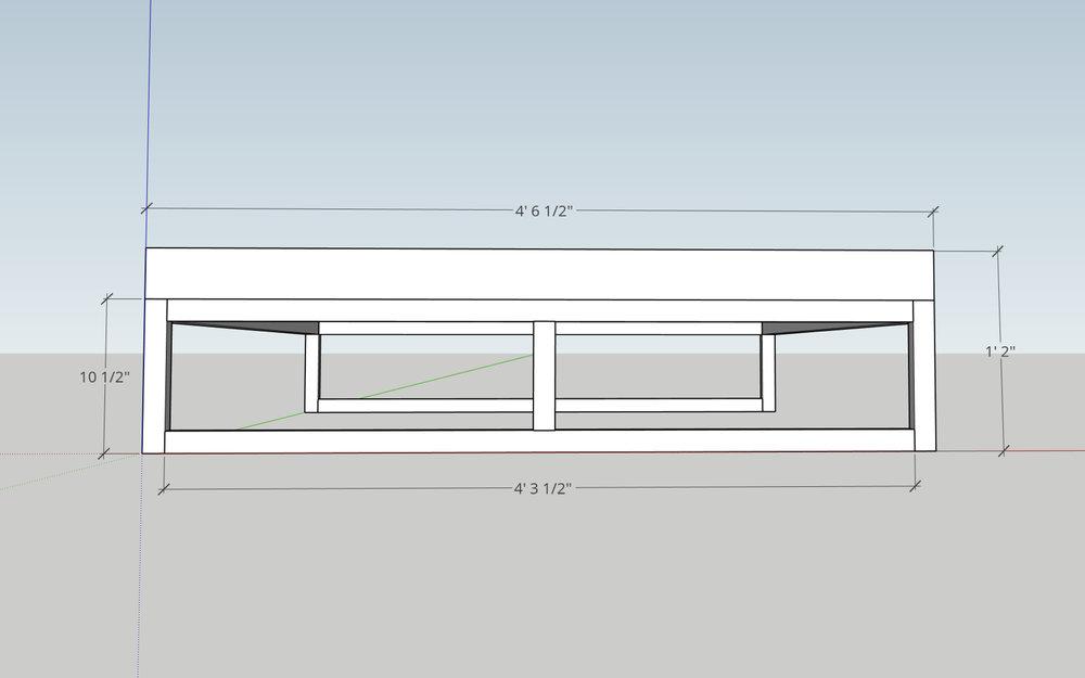 Sketchup Platform Bed Modern Builds Front.jpg