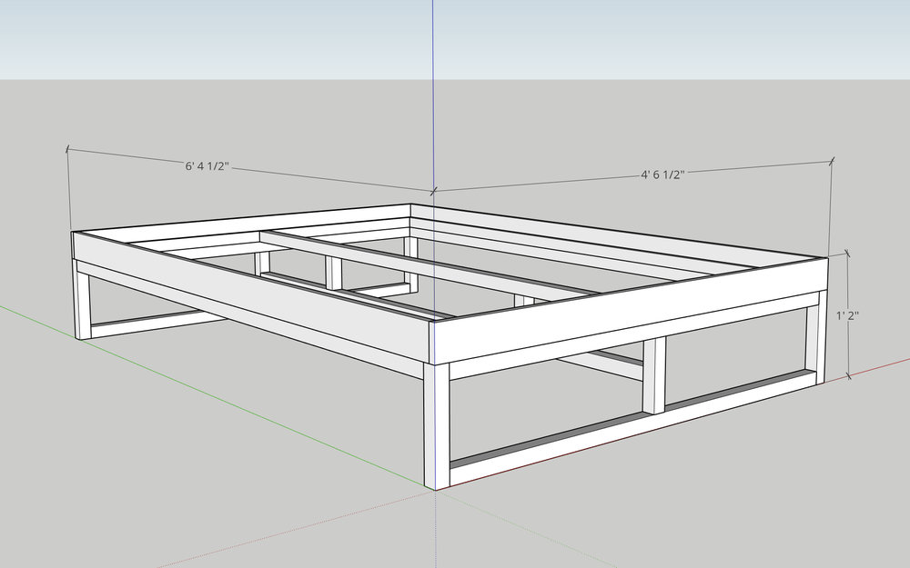 Sketchup Platform Bed Modern Builds.jpg