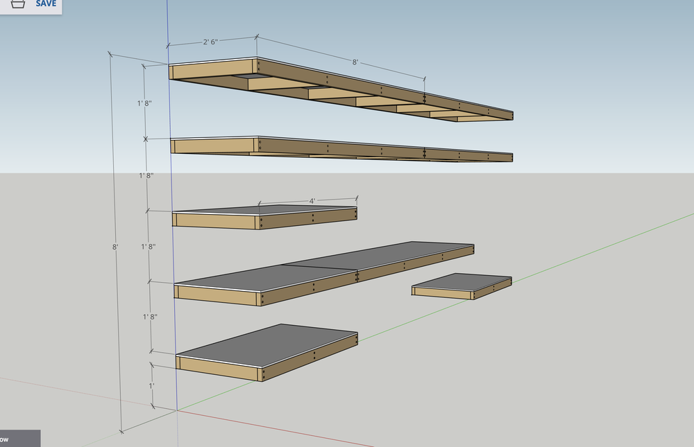 DIY Garage Shelves Plan | Modern Builds