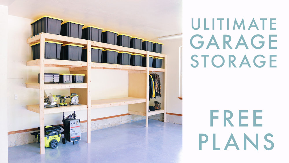 A Good System For Organization In Your Garage Is Crucial In Keeping It From  Getting Cluttered And Overwhelming. I Designed A Super Simple, Easy To  Build ...