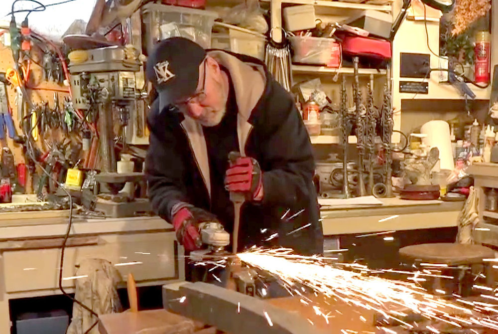 View the 15 minute video:  Steve Parmelee Assemblage  by filmmaker Cameron Snow, produced for Bainbridge Island Museum of Art, 2018
