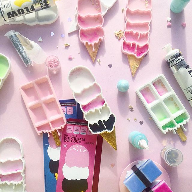 Happiness & abundance🍦💖!! What a dream guys- It's so surreal knowing people across the globe appreciate our ice cream and I got to make so many of these sweeets. 🌈💛Thank you!! Have a lovely weeek ✨💛 .  #mimaw #mimaworkshop #3d #fun #play #icecream #sweet #pastel #cute #buzzfeed #ohwowyes #love #abmcrafty #3dprinting  #abmlifeiscolorful #pink #confetti #sprinkles #handmade #etsy #etsyau #madeinmelbourne
