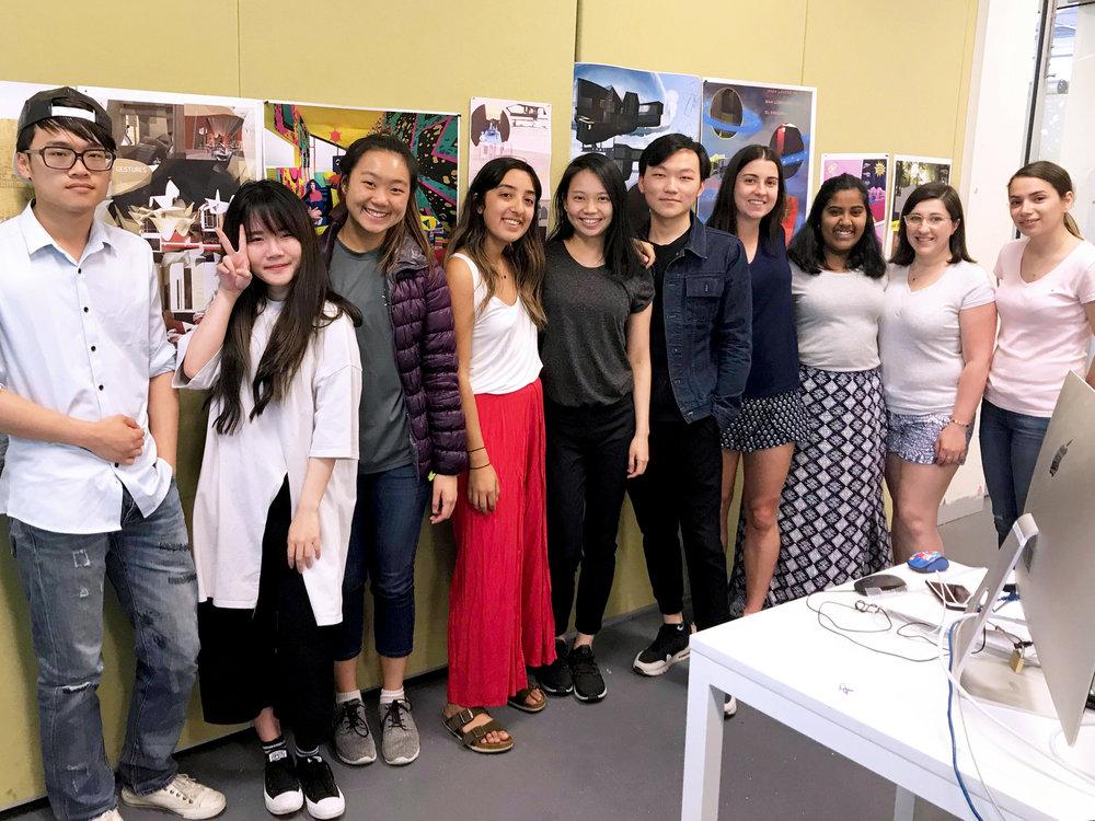 Li, Vic, Wan Chin, Hosna, Me , Kelvin, Sarah, Udara, Andrea and Atoosa. Zhi Gang and Xiang Yu missed the class.