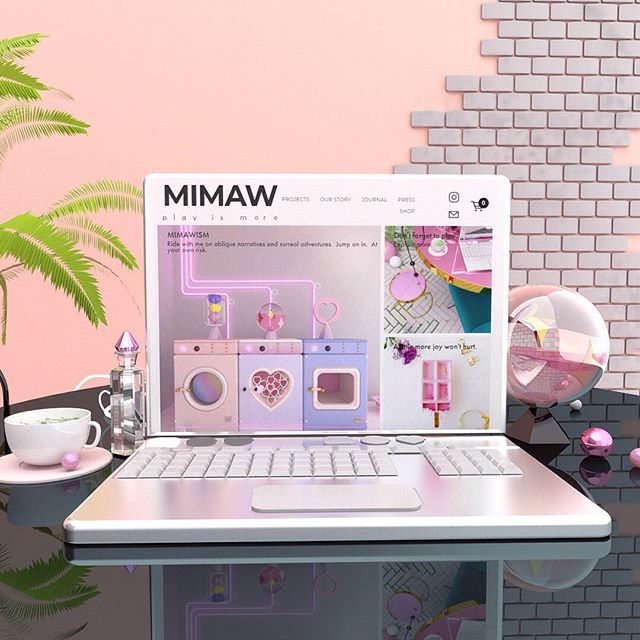 We post our work, but rarely share what the projects are about.  Our website just got updated and has helped us reflect on our journey!💖 You might catch some moving images and also events that has had happened. Lots of love ✨💛. #mimaw #mimaworkshop #fun #design #website #sweet #gif #craft #pastel #squarespace #3d #3dprinting #play #shop #dscolor #blog #architecture #graphic #collage #melbourne #madeinmelbourne #story