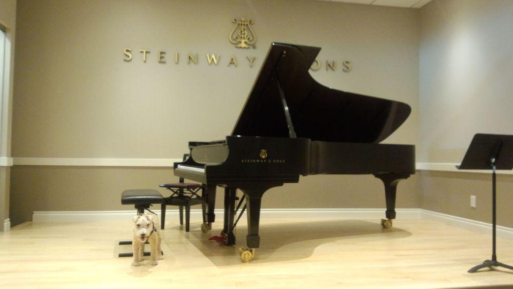 Maestro likes the Kuniisii Steinway. Credit: Rhona-Mae Arca.