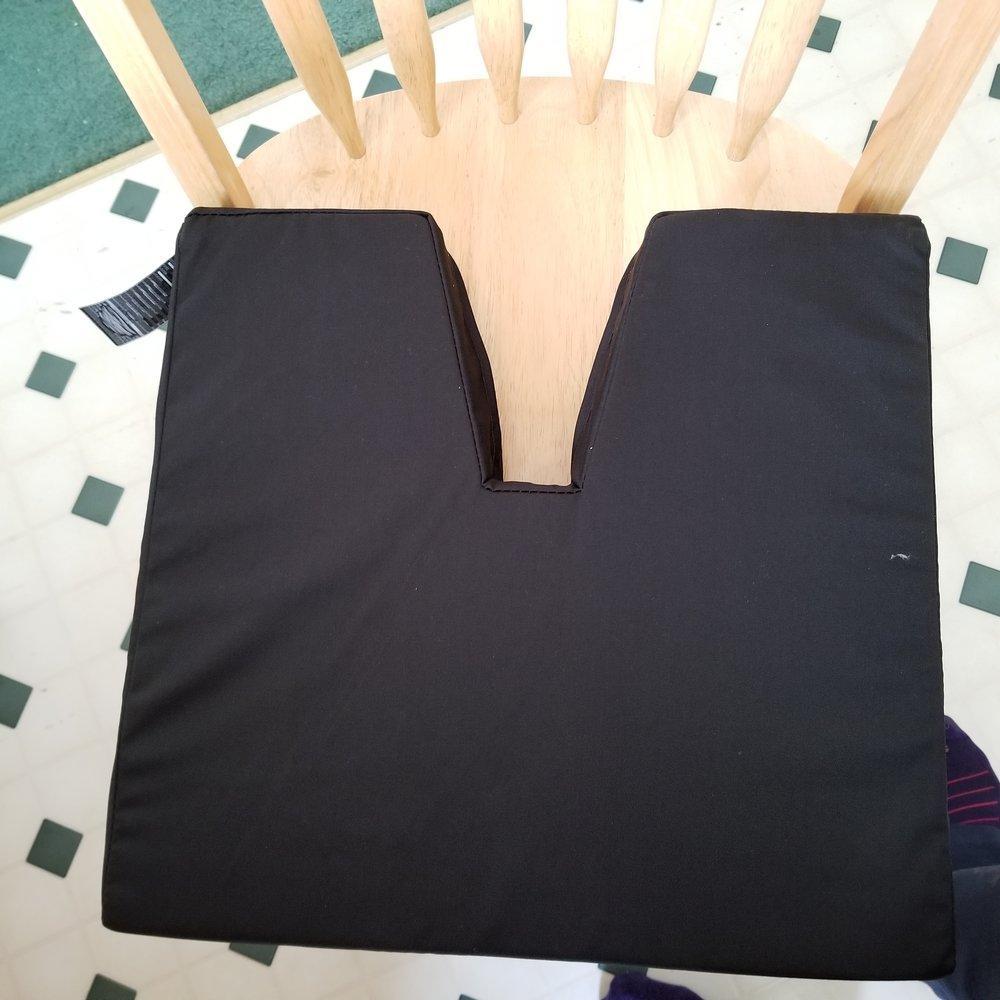 Coccyx cushion. Credit: R-M Arca.