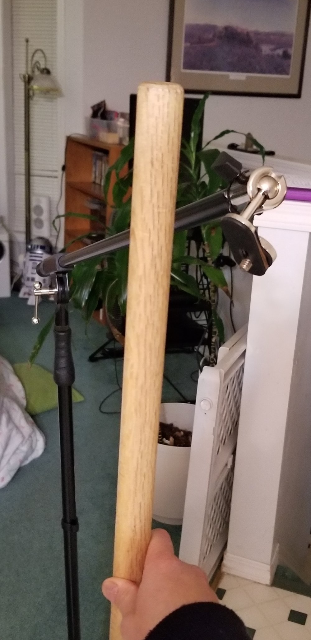 Mic Stand to the Rescue
