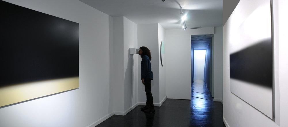 ThreeFold (Backroom installation view)2015