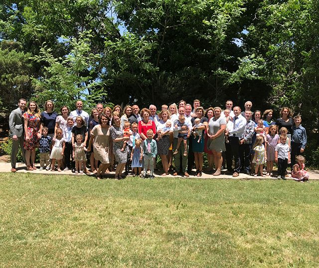 And that's a wrap! #KeelerFamilyReunion 2018 we're so blessed to have had such a special weekend, to come together and celebrate Grandpa Jimmy's 85th birthday together! We had family come from Arkansas, Arizona, California, Michigan, and Utah (I traveled 800 miles for this 😂 #insidejoke) We are grateful that families can be together forever, and for a family patriarch who has taught us to love God and work hard! Special thanks to everyone that worked so hard to put this all together, the best part was being with you! #ourFamilyRocks such a fun time together! #downonthefarm #familyreunion #familyolympics #mormon #farmfamily #farm #lds #believe #grandpa #birthday #faith #family #football