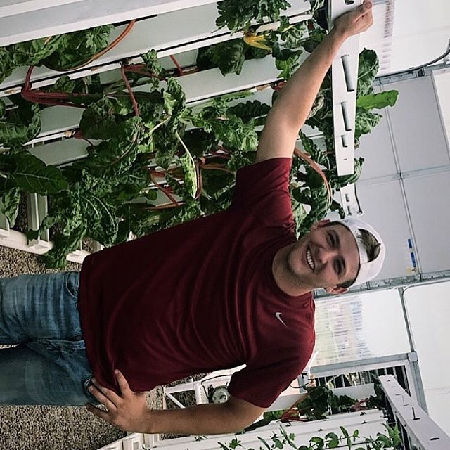 Thank you @daddychuck14 for the hard work at the green house!! Drew is studying horticulture at New Mexico State University and is going on his last semester this fall. Thank you again drew and good luck!! #NMSU #GUNSUP