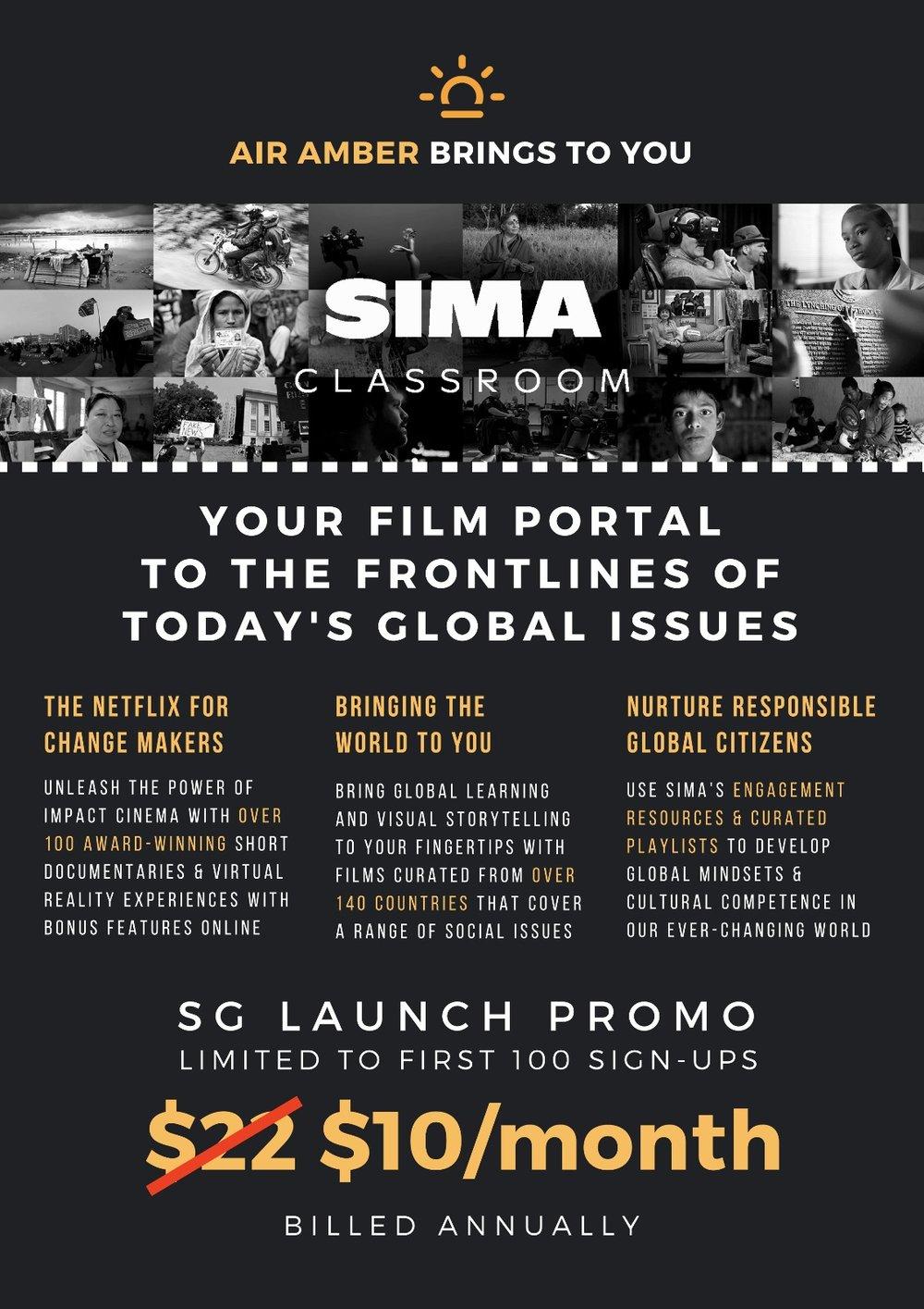 AMBER -SIMA CLASSROOM