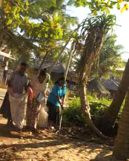 CLEAN-UP PROGRAM - EAST MADIHA PICKERS