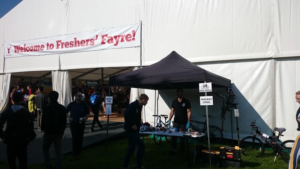 @ 2015 University of Surrey Freshers' Fayre
