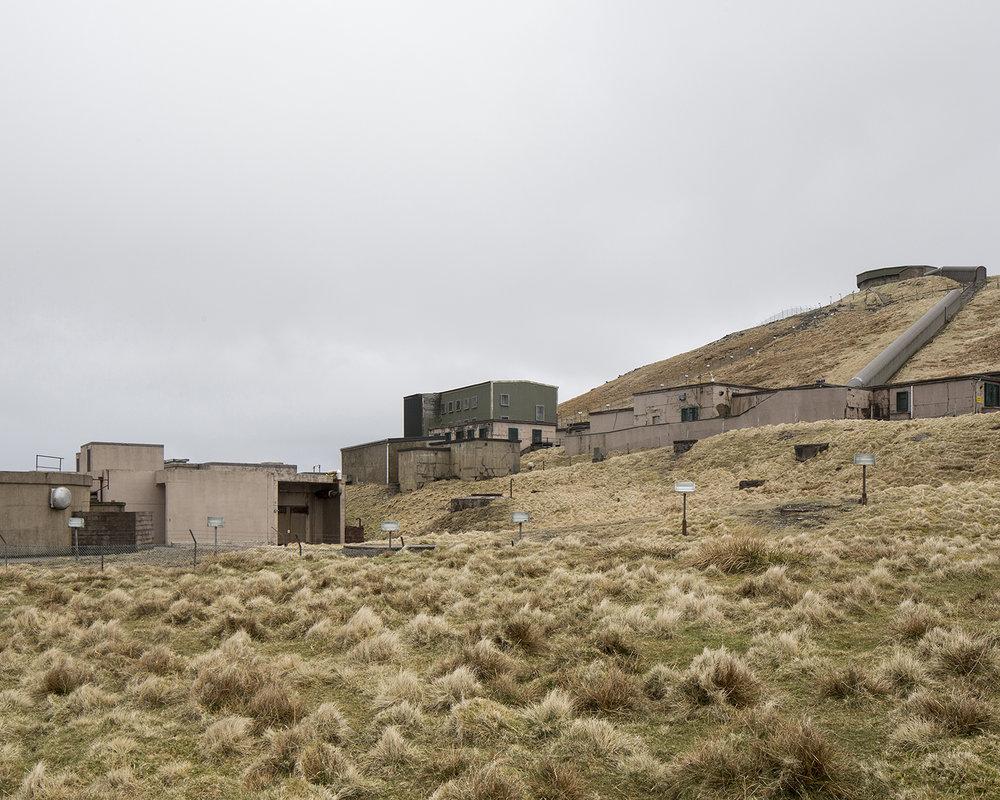 RAF Saxa Vord, former Cold War base